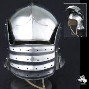 Bellows Face Sallett Helmet - 14 Gauge